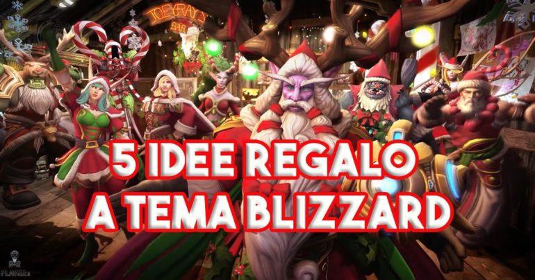 5 idee regalo a tema Blizzard