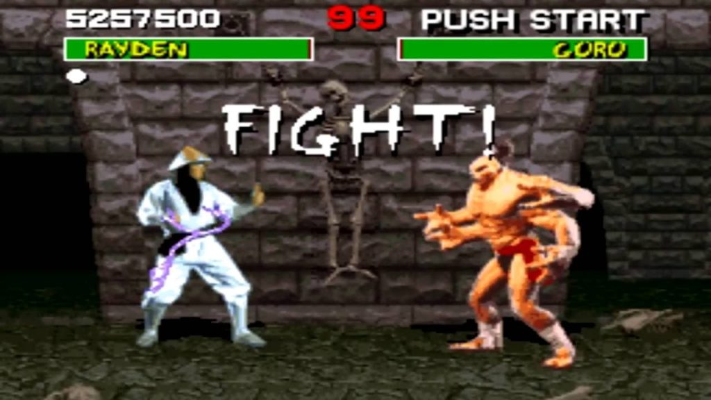 Mortal Kombat rayden goro