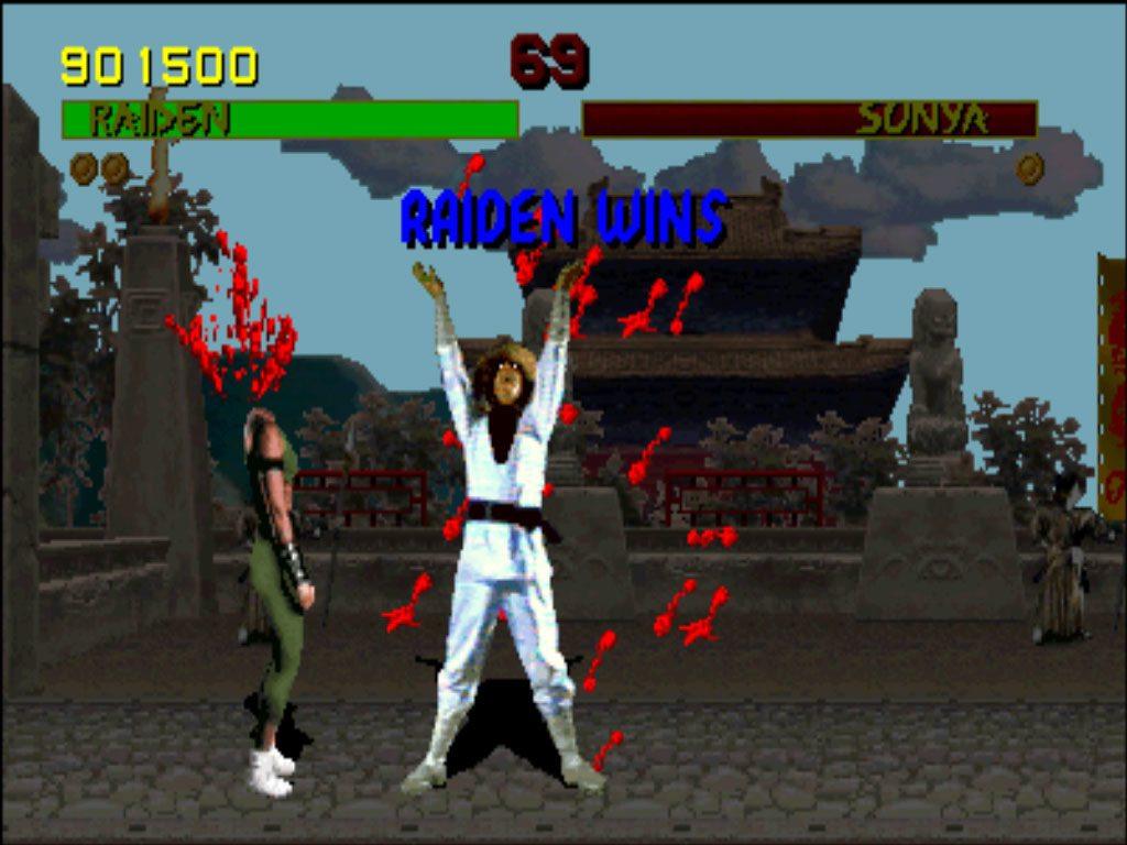 Mortal Kombat violenza
