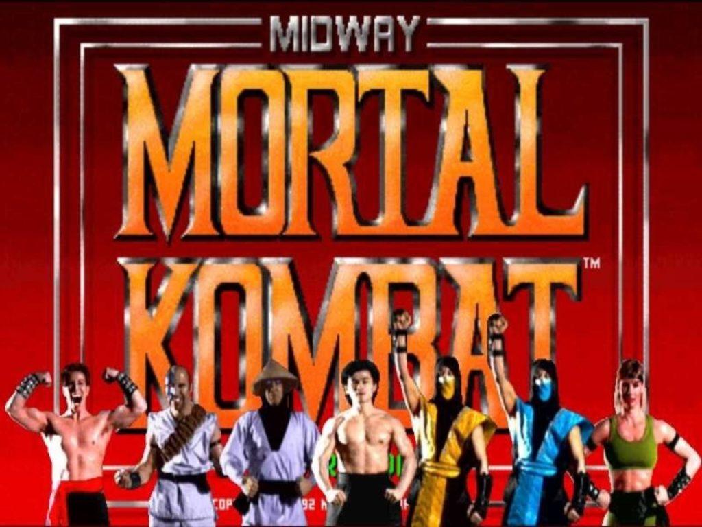 Mortal Kombat schermata iniziale