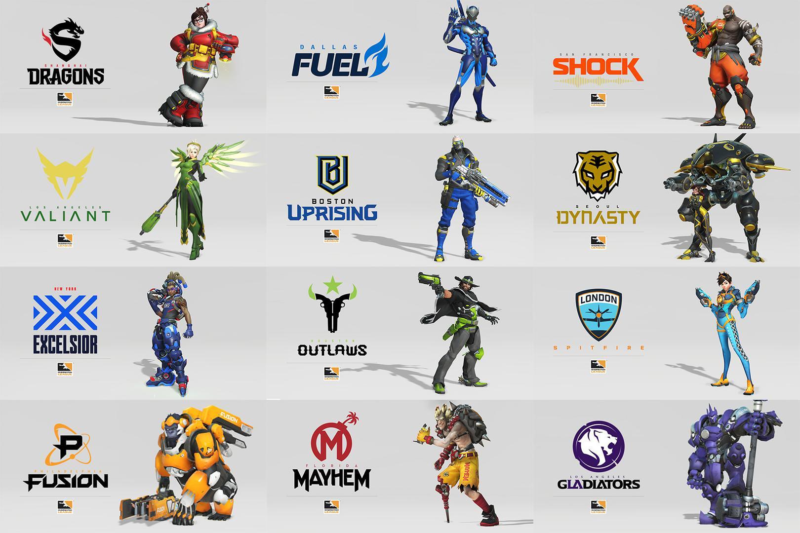 overwatch league skin