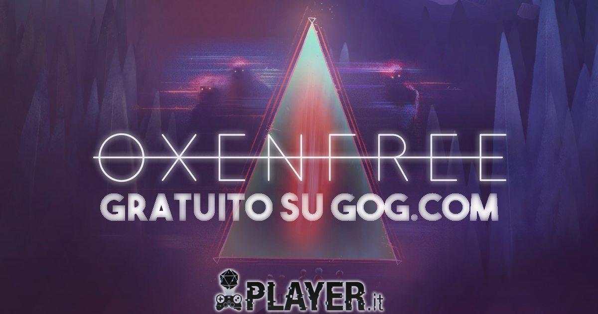 Oxenfree gratuito su GOG.com