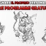 draw pg disegnare personaggio guida