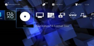 PS4 dashboard PS2 tema
