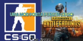 Una mod porta PUBG in CS:GO