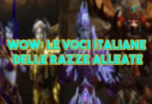WoW: Le voci italiane delle razze alleate