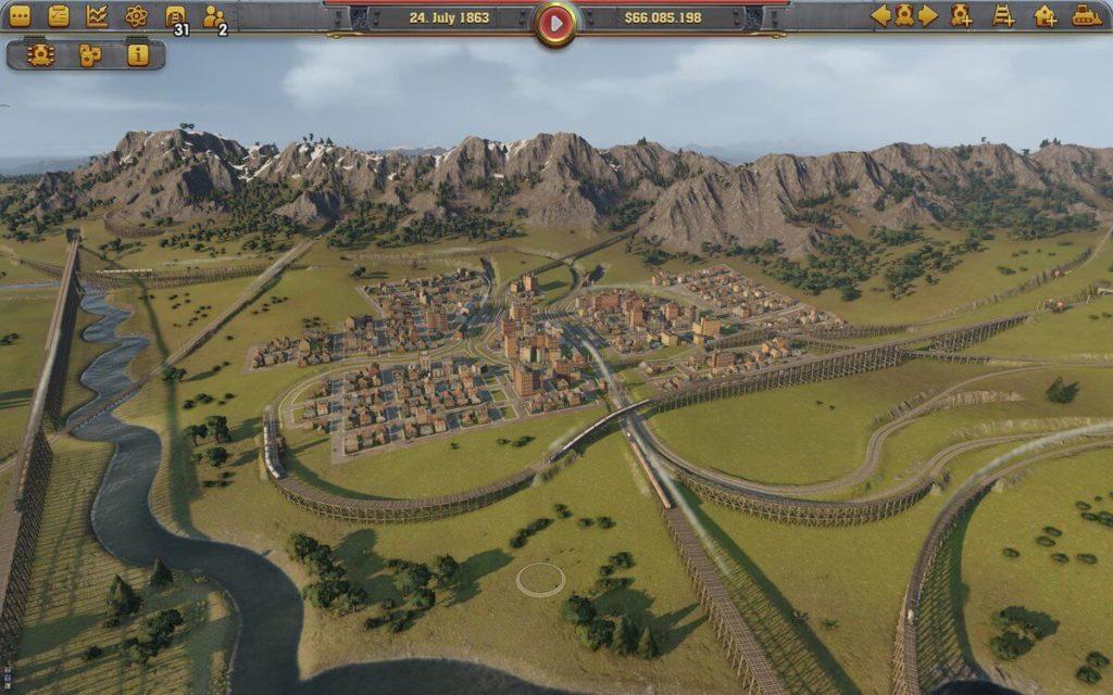 Railway Empire scenario