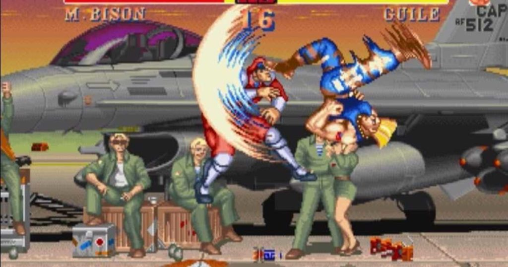 Street Fighter II combattimento