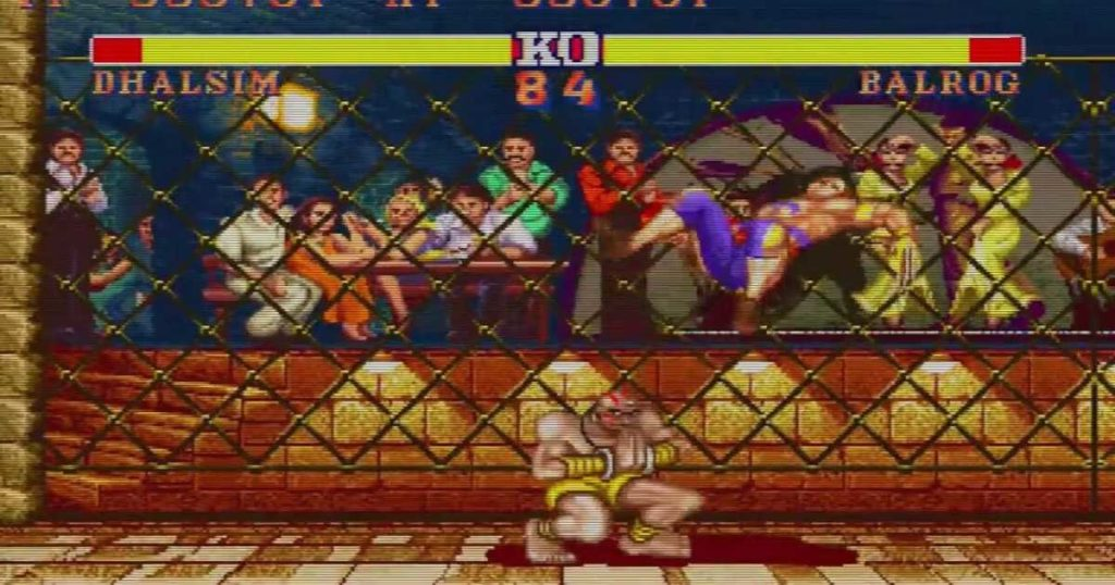 Street Fighter II Vega