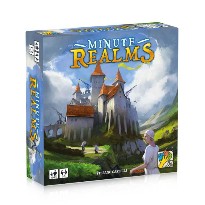 Minute Realms scatola