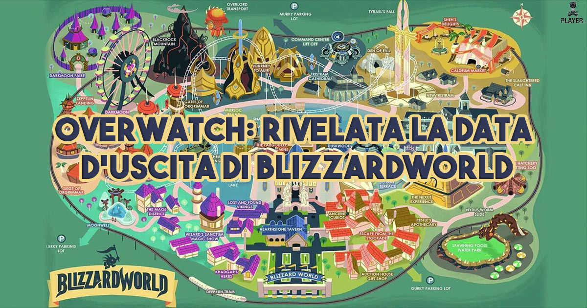 Overwatch: Rivelata la data d'uscita di Blizzard World