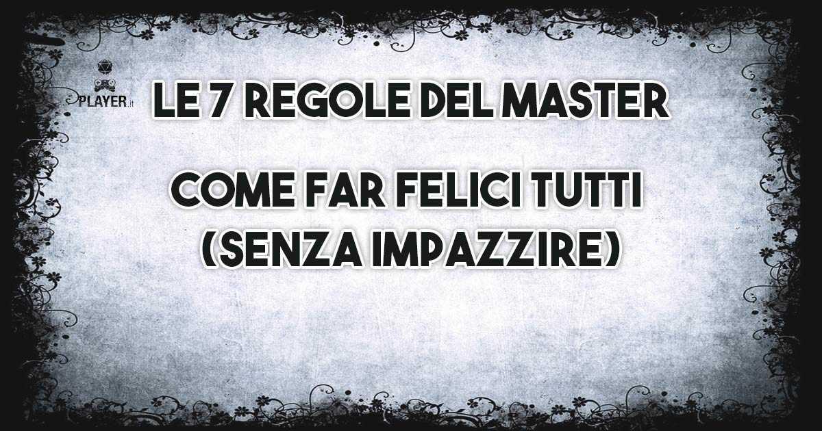 regole per master