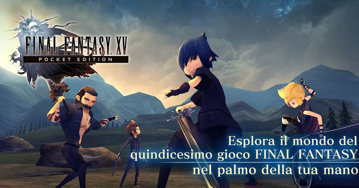 Annunciata la data di uscita di Final Fantasy XV: Pocket Edition