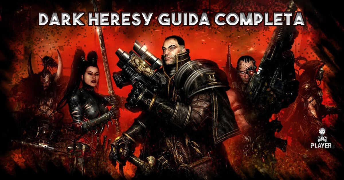 dark heresy guida completa warhammer 40k