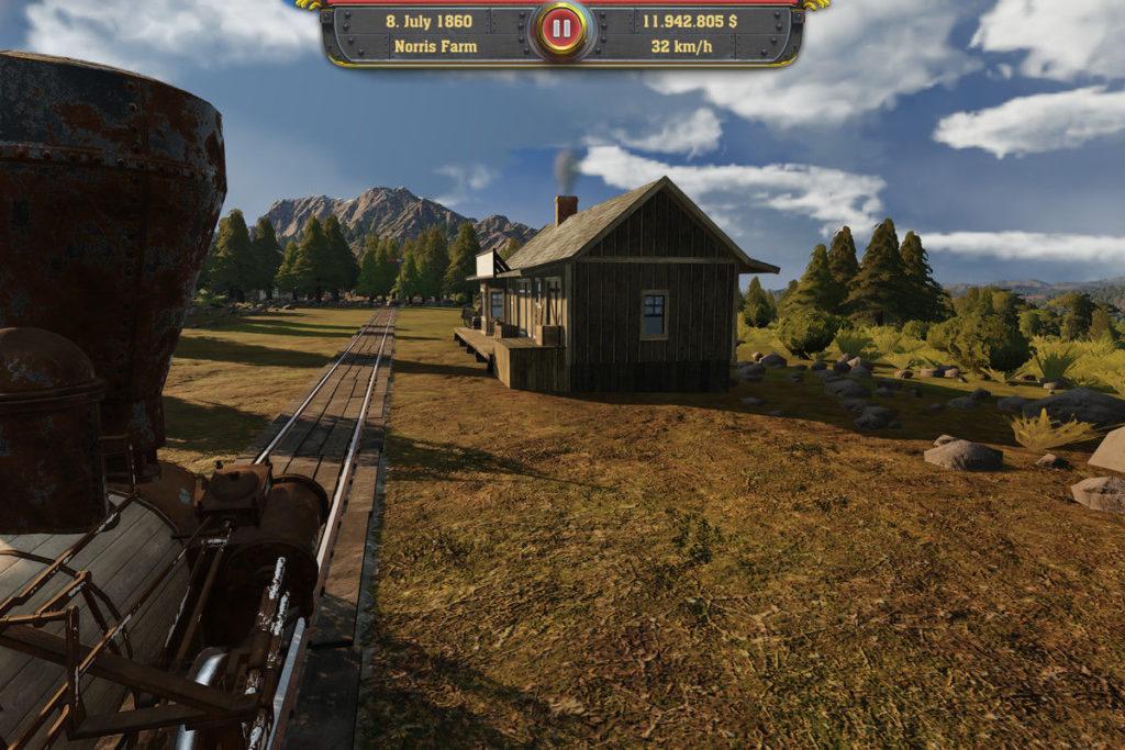Railway Empire scenario 1