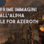 WoW: Prime immagini dall'alpha di Battle for Azeroth
