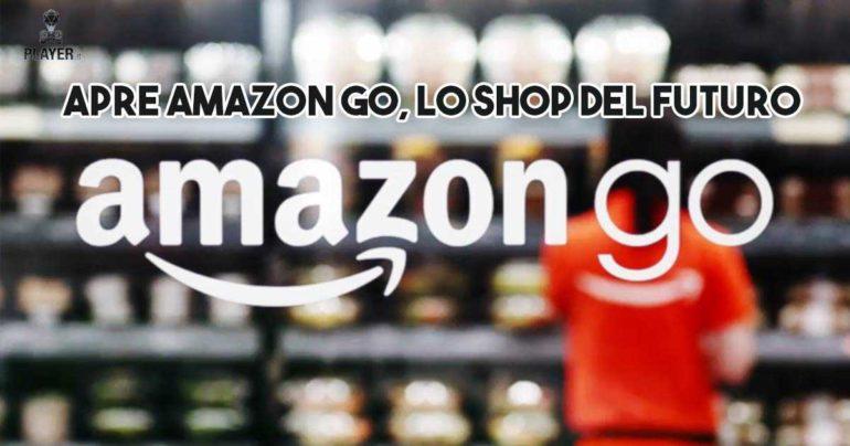 Apre Amazon Go, lo shop del futuro