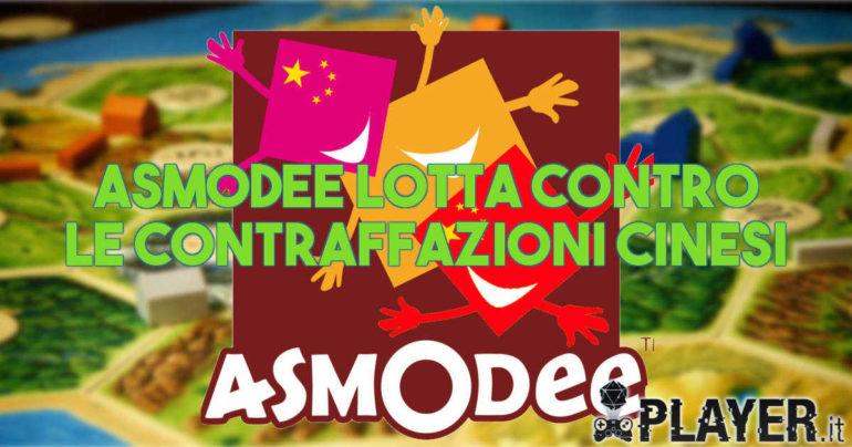 Asmodee lotta contro le contraffazioni cinesi