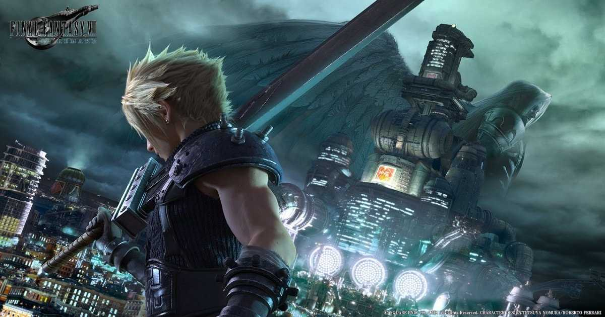 final fantasy VII remake mostra