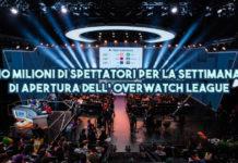 10 Milioni di spettatori per la settimana di apertura dell' Overwatch League