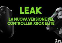 Leakate le immagini sulla nuova versione del controller Xbox Elite