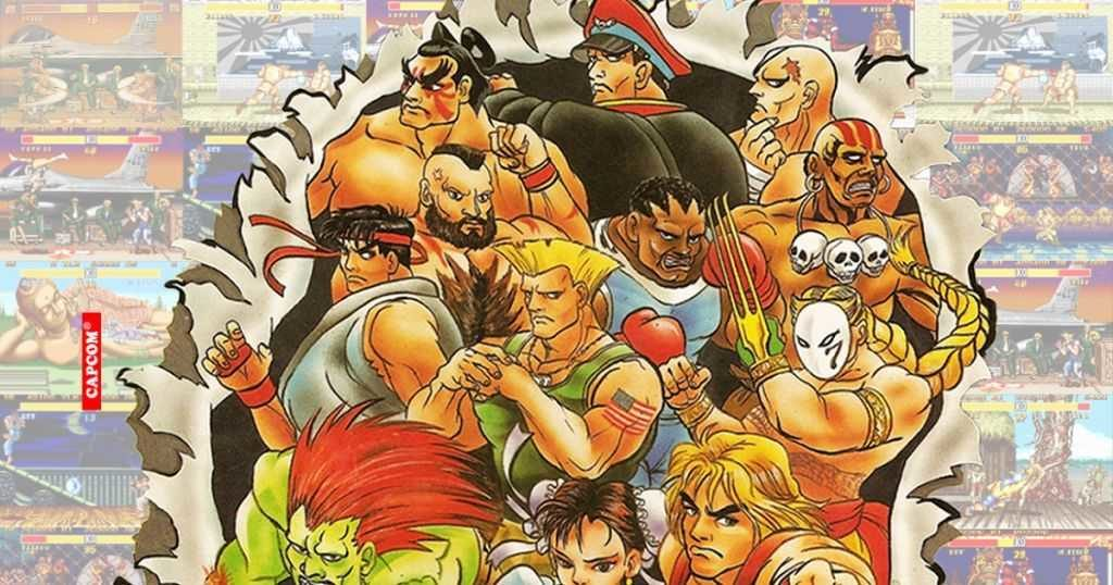 Street Fighter II personaggi