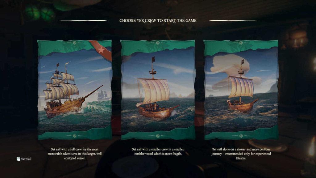Sea of Thieves navi