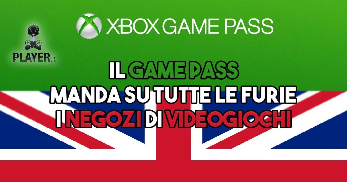 game pass negozi videogiochi