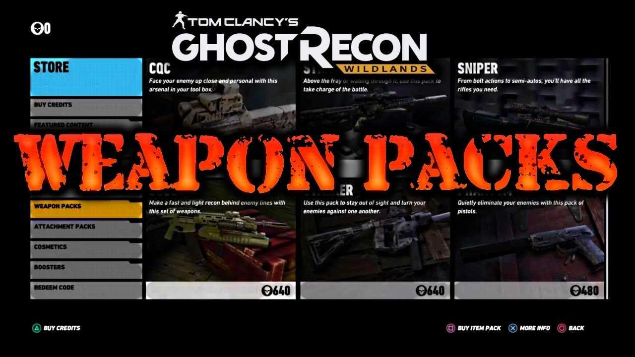 ghost recon: wildlands crate