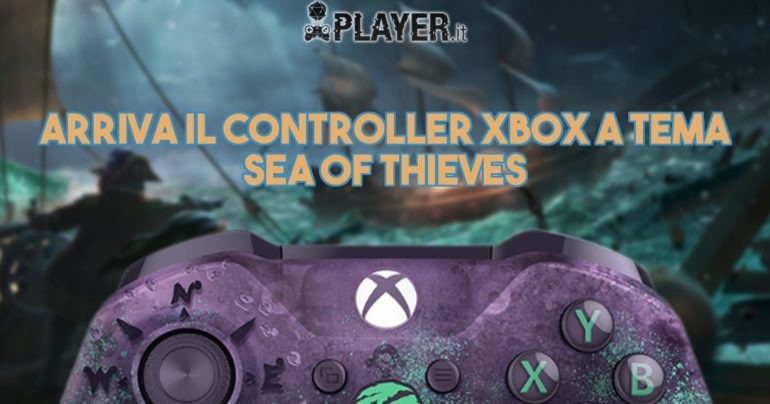 Arriva il controller Xbox a tema Sea of Thieves