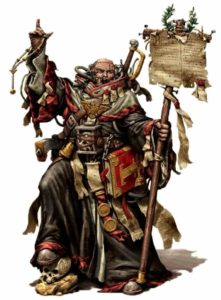 Inquisitore warhammer 40k dark heresy pergamena