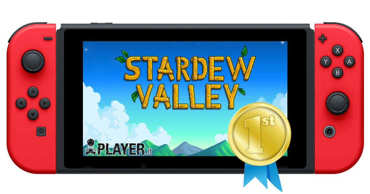 Stardew Valley è il titolo più scaricato su Switch nel 2017