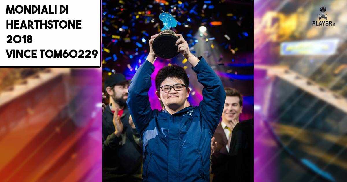 Mondiali di Hearthstone 2018, vince Tom60229
