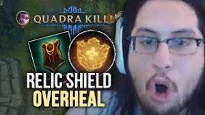 leaguer of legends season 8 relic shield overheal