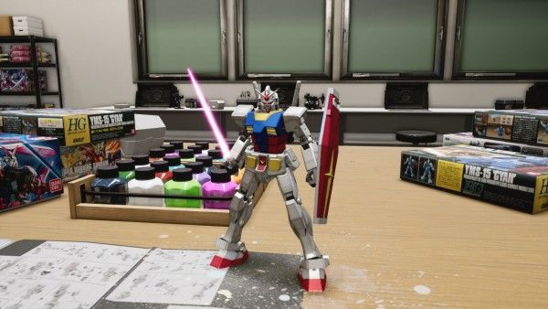 new gundam breaker gameplay