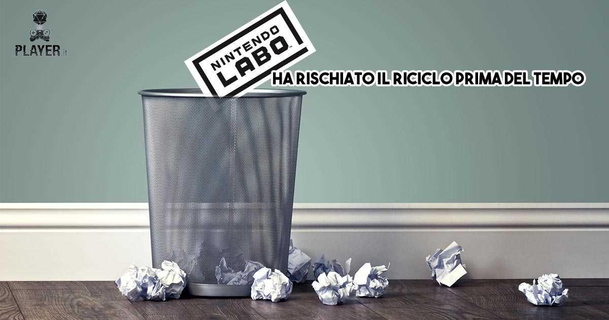 nintendo labo riciclato