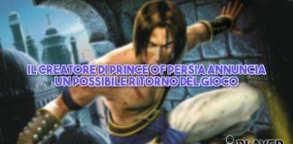 Il creatore di Prince of Persia annuncia un possibile ritorno del gioco