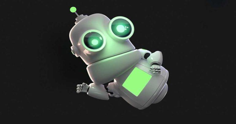 robot cache usato videogiochi