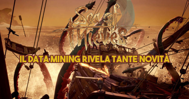 Sea of Thieves: il data mining rivela tante novità