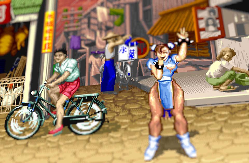 Street Fighter II Chun-Li