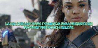 La Valchiria di Tessa Thompson sarà presente nei prossimi videogiochi Marvel