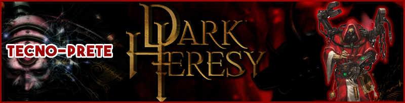tecnoprete dark heresy warhammer 40k