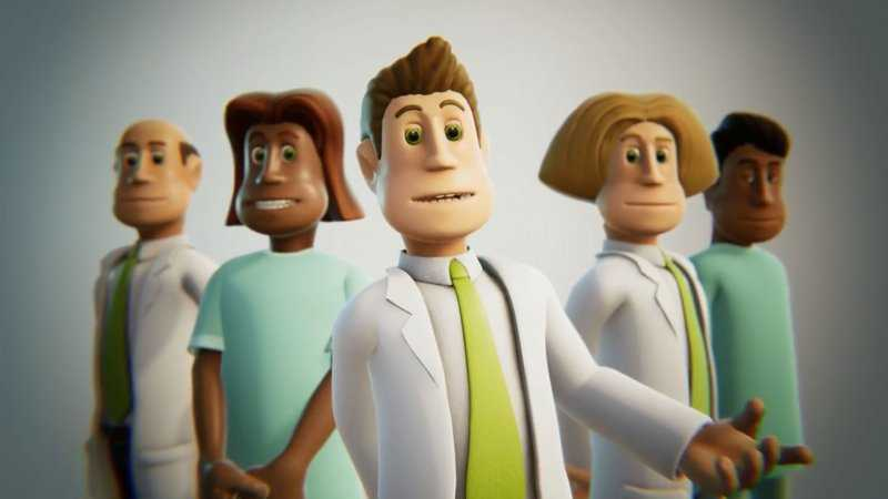 two point hospital i personaggi