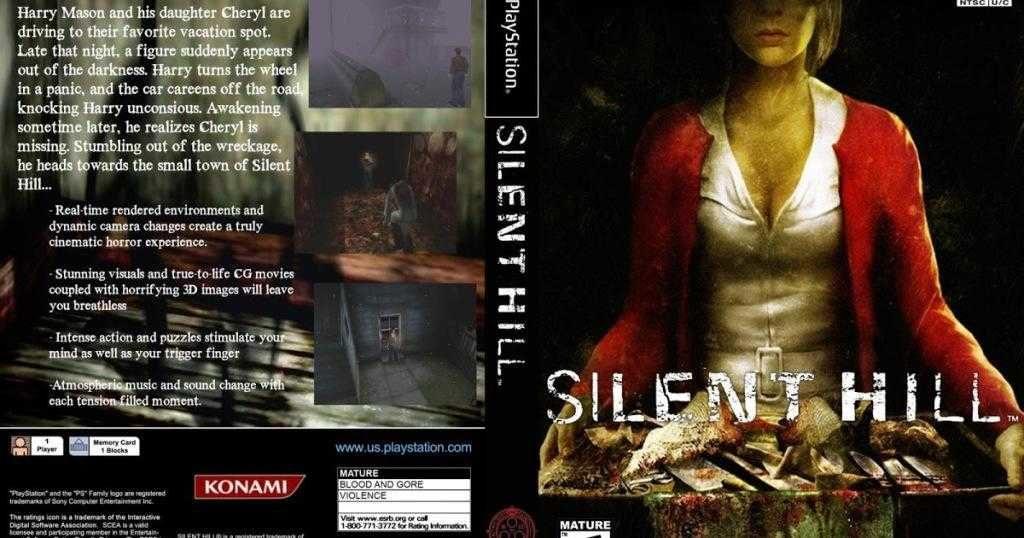 Silent Hill copertina