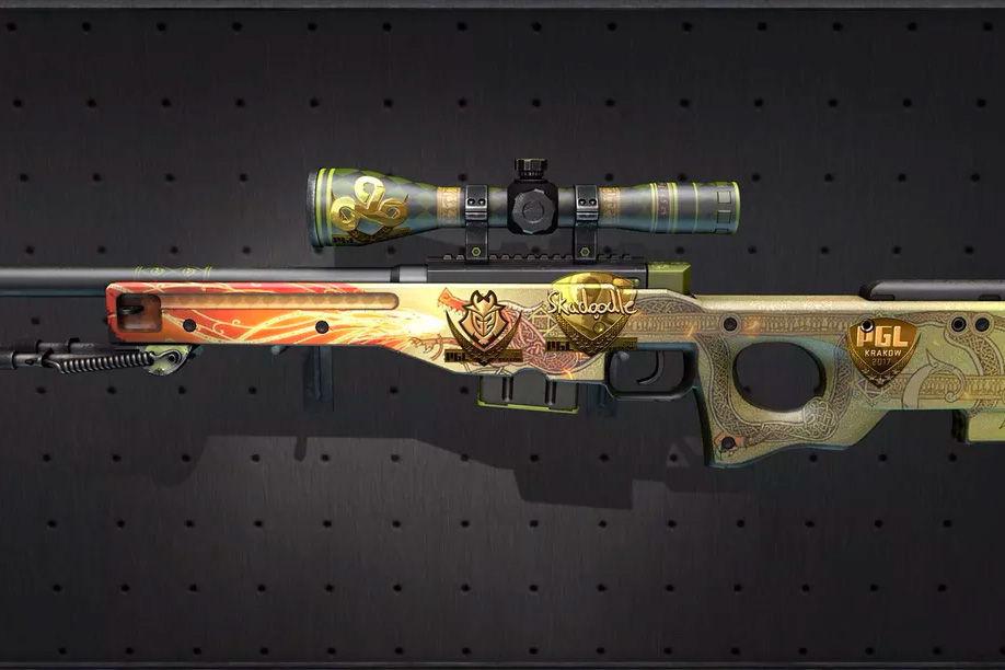 skin cs:go fucile da cecchino
