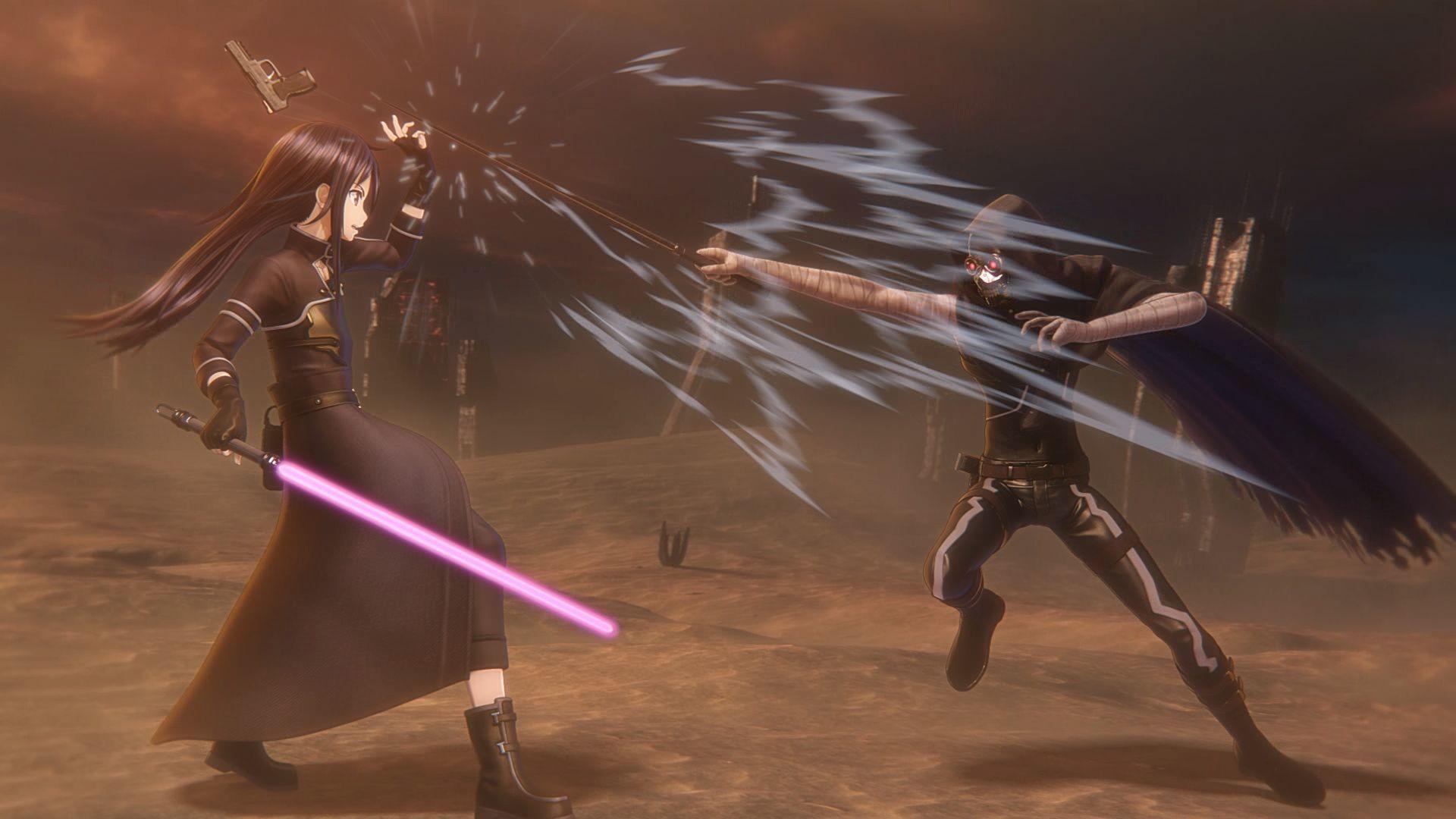 sword art online fatal bullet personaggi
