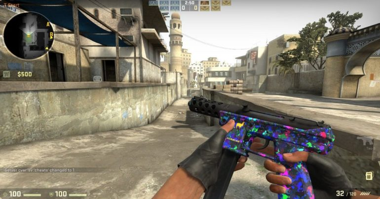 skin arma cs:go