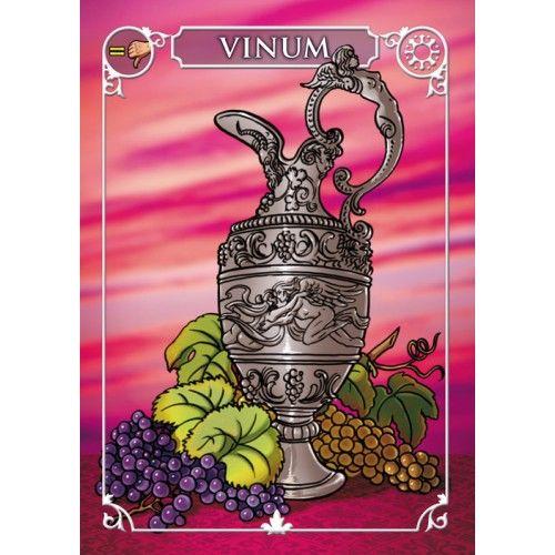 bacchanalia gioco di carte narrattiva carta vinum
