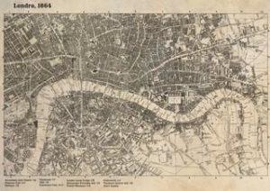 Brass Age - mappa londra