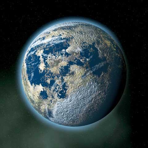 Visione dall'orbita di Cadia